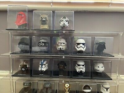 £75 • Buy Star Wars Collection 23 Helmets And Stand (New) Unopened