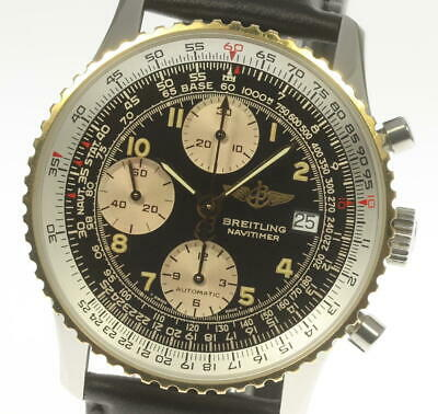 £2375.78 • Buy BREITLING Old Navitimer D13022 Chronograph Black Dial Automatic Men's_495629