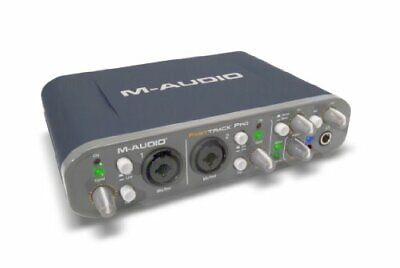 $336.29 • Buy M-AUDIO Preamplifier Equipped With USB Audio Interface Fast Track Pro FASTTRACKP