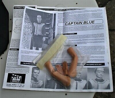 £10 • Buy SEVANS Gerry Anderson : Captain Scarlet, Blue Green, Black, White Arms & Hands
