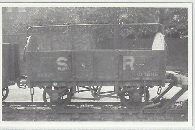 £1.10 • Buy Ex Lb&scr Southern Railway 5 Plank Round End Wagon No 23221 In 1931  Rp Photo