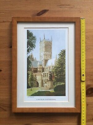 £5 • Buy Framed Lincoln Cathedral Print