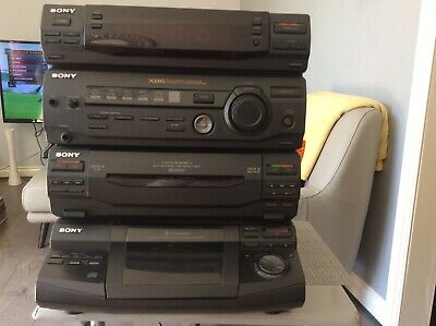 £70 • Buy Vintage Sony Hifi Stereo 5 CDs Player System HCD-xB6 Compact Deck Receiver