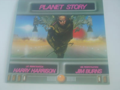 £14.99 • Buy PLANET STORY By Harry Harrison And Jim Burns Sci-fi Fantasy Art