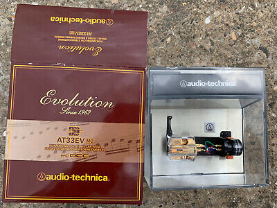 £210 • Buy Audio-Technica AT33EV Dual Moving Coil Cartridge With Elliptical Stylus