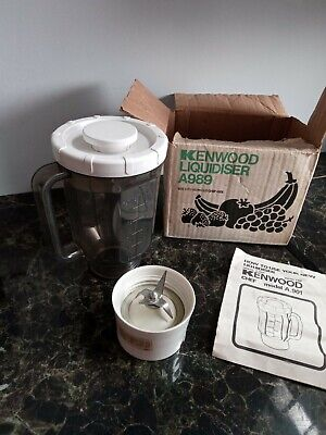 £16 • Buy Vintage Kenwood Chef A989 Liquidiser Mixer Attachment For A901 Boxed