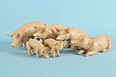 £30 • Buy Schleich Pig Group: Boar 13217, Sow 13202, 13208, 13224 & Piglets 13117, 13118