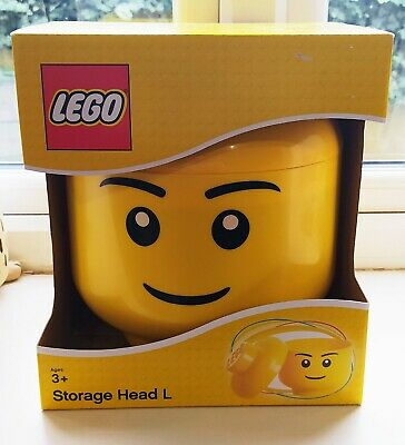 £21.99 • Buy Lego Storage Head Large Boy New Unwanted Gift Brand New Boxed Collectable
