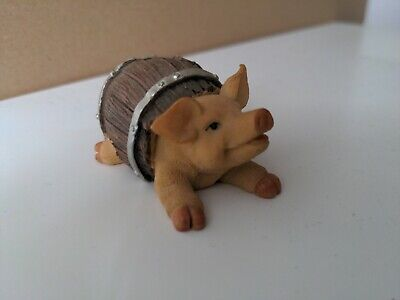 £10 • Buy Animal Collectables Figurine Pig In Barrel