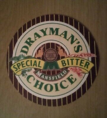 £1.60 • Buy Beer Mats Mansfield Brewery Drayman's Choice Special Bitter 1980,s