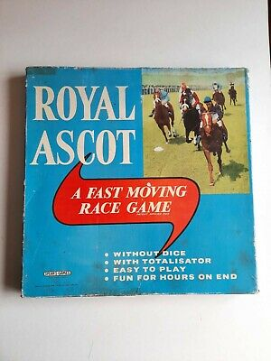 £40 • Buy Vintage Royal Ascot Race Game By Spears Games