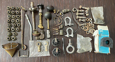 $75 • Buy Misc Part Lot M151 Mutt Military Truck ~ Valves, Lug Nuts, Shift Knobs, D-rings