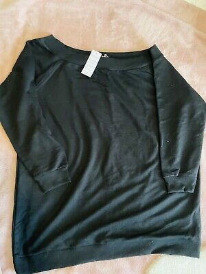 £5 • Buy Bnwt Yours Clothing Off The Shoulder Sweatshirt Jumper Size 20