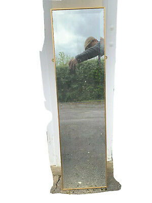 £5 • Buy Full-length Mirror With Wall Fixings, About 118cm X 32cm