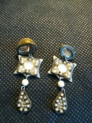 £40 • Buy Vintage Ayala Bar Earrings, Used But Excellent Condition