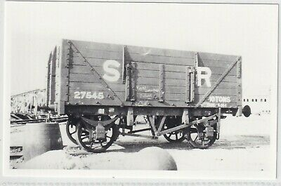 £1.10 • Buy Southern Railway 7 Plank Coal Wagon No 27545 On The Isle Of Wight?   Rp Photo