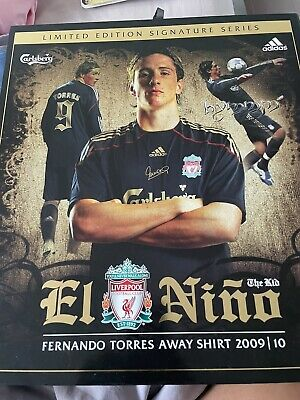 £329.99 • Buy Fernando Torres Limited Signature Series 2009/10 SIGNED Shirt Liverpool FC