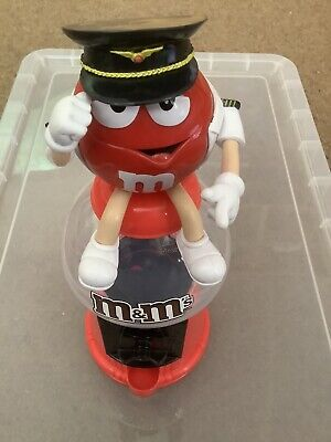 $9.65 • Buy M&M's Red Captain/Pilot Money Box/ Sweet/Candy Dispenser - Collectable