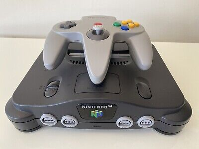 $ CDN94.79 • Buy Nintendo 64 N64 Console With Grey Controller - PAL UK CLEANED & TESTED