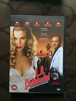 AU1.83 • Buy L.a. Confidential Dvd - Kevin Spacey Russell Crowe Kim Basinger Danny Devito Guy