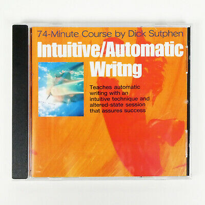 £10.09 • Buy INTUITIVE AUTOMATIC WRITING 74 Minute Course Dick Sutphen Writer Self Hypnosis