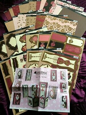 £5.99 • Buy Kanban Shabby Chic Card Collection - Part Kit