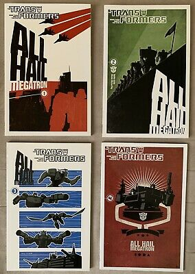 £28.73 • Buy Transformers: All Hail Megatron Vol. 1-4 TPBs Lot In Brand New Condition