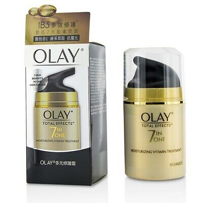 AU53.47 • Buy Olay Total Effects 7 In 1 Moisturizing Vitamin Treatment 50g Mens Other