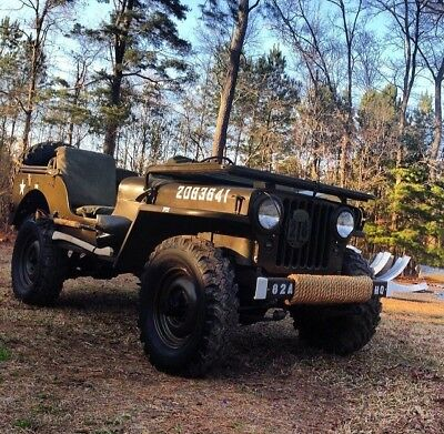 $148.99 • Buy Willys MC M38 MD M38A1 Military Army Jeep Top Bows