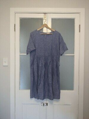 AU50 • Buy Gorman Goldie Dress Chambray Size 10 - Never Been Worn