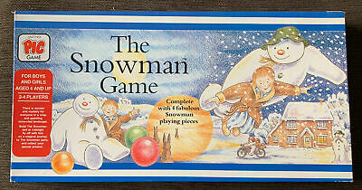£29.95 • Buy Vintage The Snowman Raymond Briggs Official Pic Board Game 1987 Rare