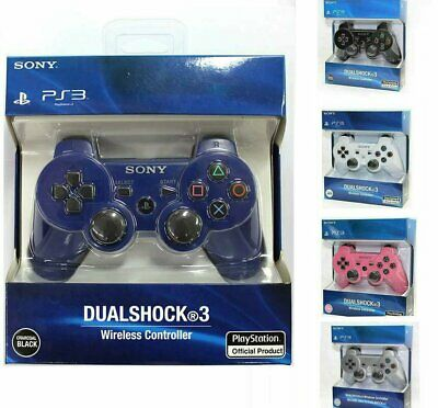£13.99 • Buy DualShock 3 PS3 Wireless Bluetooth Game Controller Gamepad For PlaySation 3