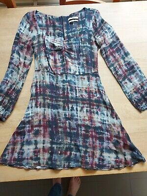 AU6.46 • Buy Pull And Bear Skater Dress Tie Dyed Small