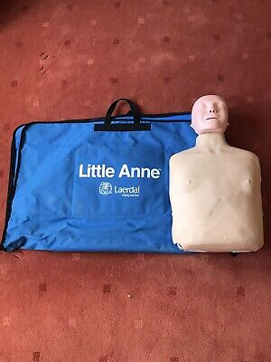 £75 • Buy Used Laerdal Little Anne First Aid CPR Training Manikin In Carry Bag