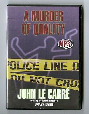 £13.66 • Buy A Murder Of Quality: John Le Carre - Unabridged Audio Book - MP3CD