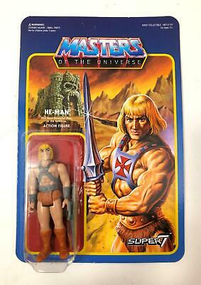 $26.90 • Buy Super7 Masters Of The Universe He-Man Reaction Figure