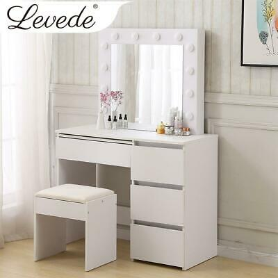 AU170 • Buy RETURNs Levede Dressing Table Stool Mirrors Jewellery Cabinet Makeup Organizer Z