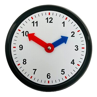 £3.99 • Buy Kids Teaching Clock Child Learn To Tell The Time Boys Girls Educational Game Toy