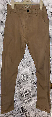 £5 • Buy Boys Age 12 (11-12 Years) Next Chino Trousers - Twisted Carrot Fit