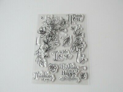 £1 • Buy Crafters Companion Mixed Floral Stamps  At Least 12 Stamps