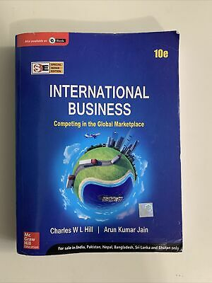 £2.88 • Buy INTERNATIONAL BUSINESS By Hill Book The Fast Free Shipping