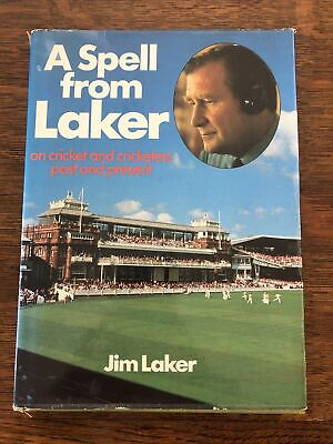 £7 • Buy A Spell From Laker By Jim Laker: Cricket: Past & Present Hardback