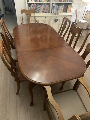 AU180 • Buy Queen Anne Style Extendable Dining Table