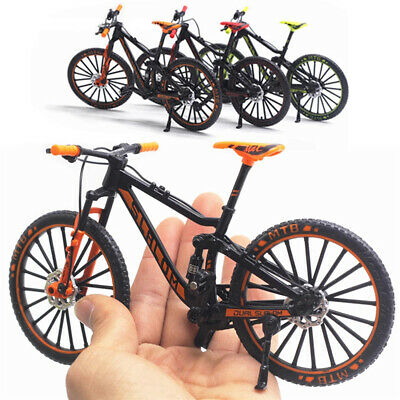 £8.29 • Buy Mini 1:10 Mountain Bike Model Diecast Metal Finger Bicycle Racing Toy Collection