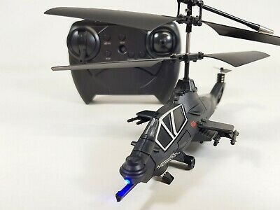 £21.99 • Buy Apache Wolf RC Helicopter Gyro Remote Control Aircraft Mini Drone Quatcopter Toy