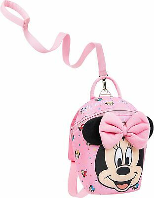 £17.49 • Buy Disney Minnie Mouse Toddler Backpack With Reins, Child Safety Harness