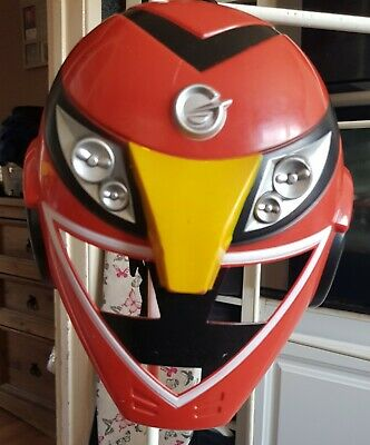£0.99 • Buy Power Rangers Red Mask For Dressing Up Costume. Age 4 Yrs. Used Condition.