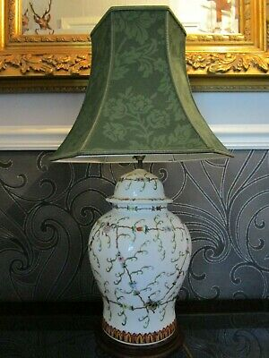 £25 • Buy Chinese Porcelain 'Butterfly Pattern' Table Lamp