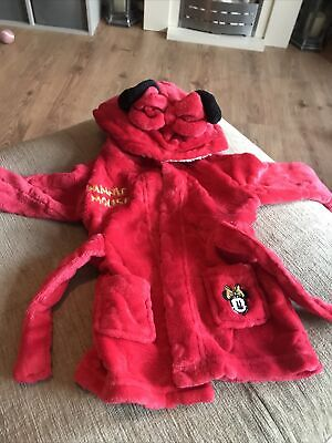 £0.99 • Buy Disney Baby Girl 9-12 Months Dressingown Minnie Mouse
