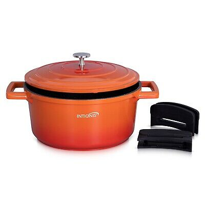 £44.99 • Buy Casserole Dish With Lid Nonstick Ovenproof For Stews Roasting Cooking 24cm-4.7L